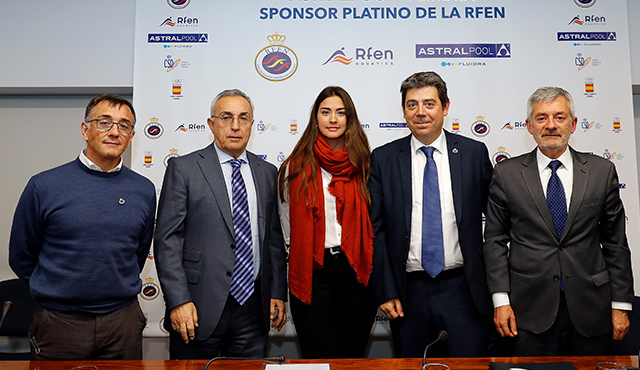 Fluidra, new Platinum Sponsor of Royal Spanish Swimming Federation through to 2020 Olympics